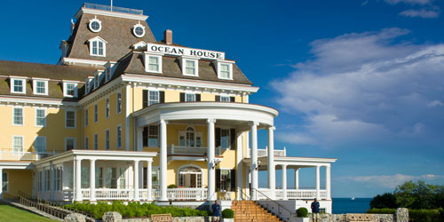 Front Entrance 500x250 - Ocean House Resort - Watch Hill, RI