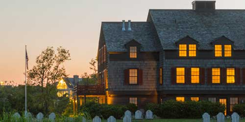 Exterior Sunset View - Weekapaug Inn - Westerly, RI