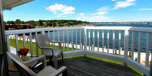 Bay View from Deck - Wellington Resort - Newport, RI