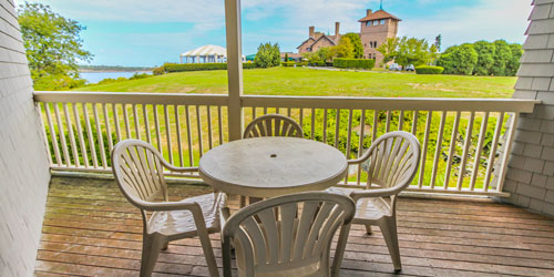 Patio View - Oceancliff I & II - Newport, RI