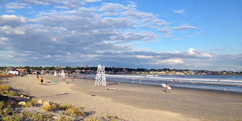 Easton's Beach in Newport RI
