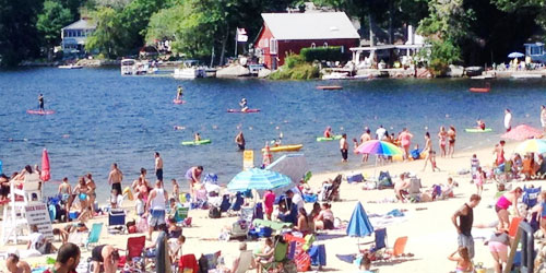 Spring Lake Beach in Burrillville RI