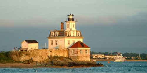 rose island lighthouse near Newport RI-credit-Discover newport
