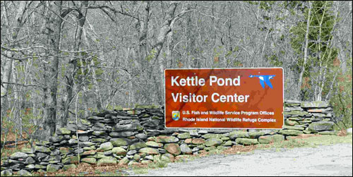 kettle pond visitor Center RI