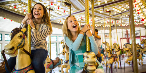 Roger Williams Park Carousel - Providence Warwick Convention & Visitors Bureau - Providence, RI