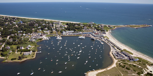 Watch Hill Harbor View - Heliblock Helicopter Tours - Westerly, RI