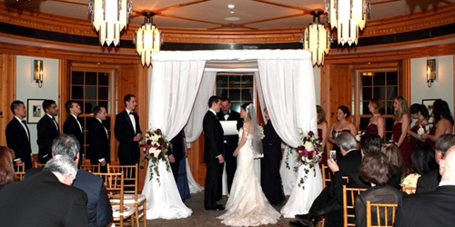 Indoor Winter Wedding - Ocean House Resort - Watch Hill, RI