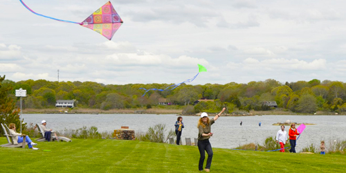 Flying Kites - Weekapaug Inn - Westerly, RI