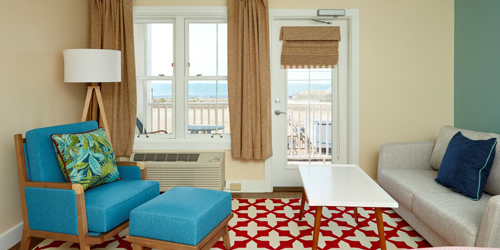 Beach View Room - Hotel Maria - Westerly, RI