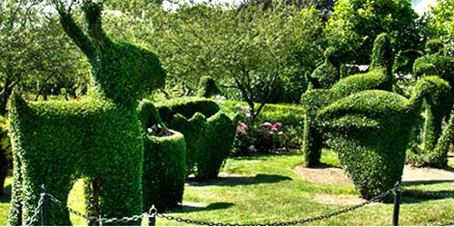 green animals topiary garden ri