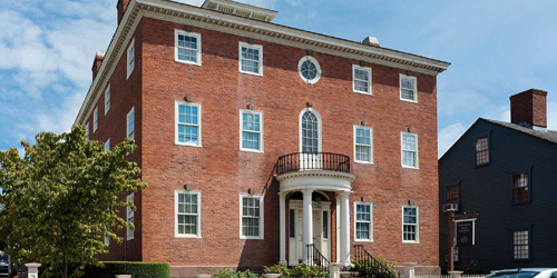 Exterior View - Whitehorne House Museum - Newport, RI