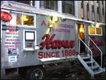Haven Bros Diner in Providence, birthplace of the American diner