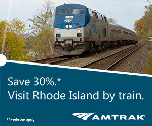 Amtrak - Visit Rhode Island by Train and Save 30%!