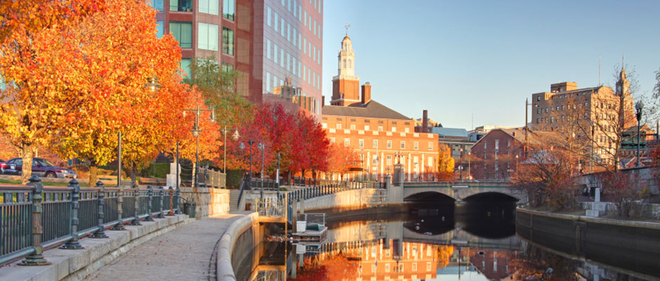 WaterPlace Park, Providence, in the Fall