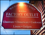 wickford gourmet factory outlet