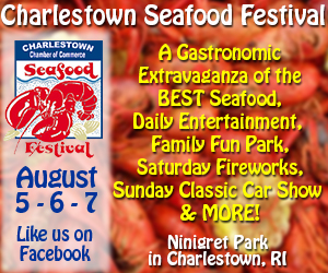 Charlestown Seafood Festival - August 5-7, 2016 at Ninigret Park in Charlestown, RI
