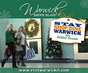 Visit Warwick, RI - Stay, Stop & Dine This Holiday Season!