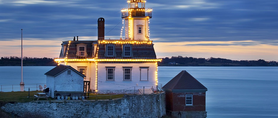 Rose Island Lighthouse, RI. Photo by Billy Black