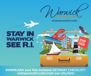 Stay in Warwick and See Rhode Island! Click here for details and to download your getaway checklist.