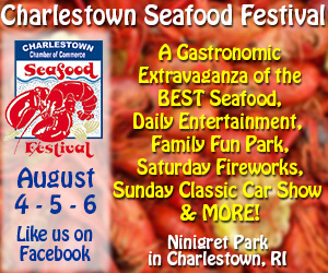 Charlestown Seafood Festival - August 4-6, 2017 at Ninigret Park in Charlestown, RI